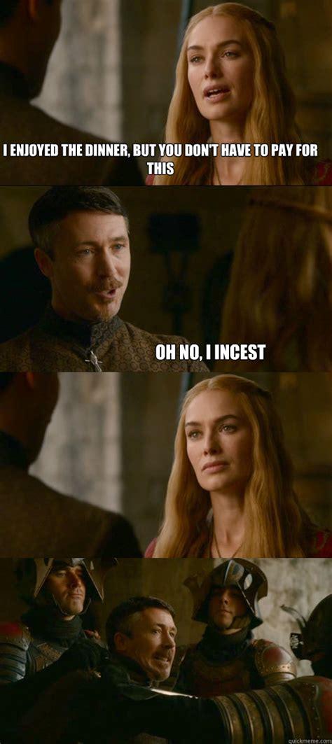 Cersei Lannister Meme - incest in historical drama cersei lannister anne boleyn lucrezia borgia history behind
