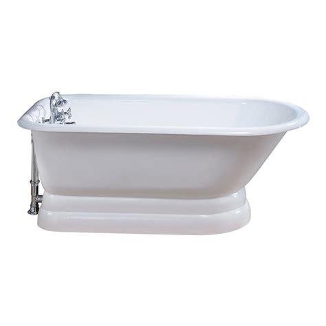 bathtubs at lowes cheviot 211 traditional pedestal soaking bathtub lowe s
