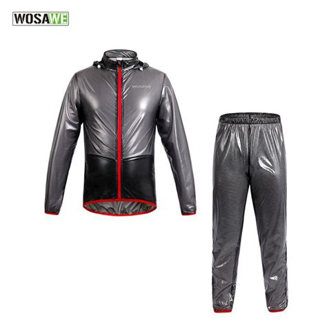bicycle rain jacket wosawe new cycling rain jacket mtb mountain bike ridng
