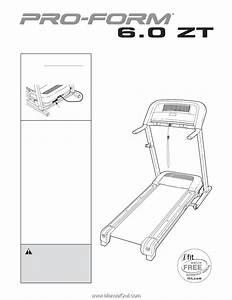 Proform 6 0 Zt Treadmill