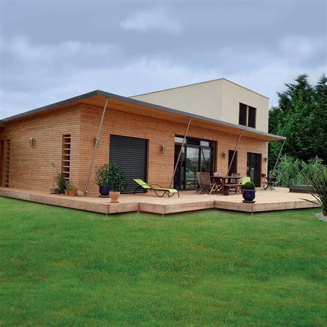 rielcy maison ossature bois bioclimatique par nature et bois construction la maison bois par