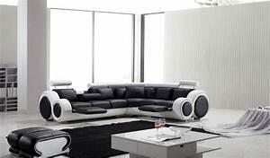 Canape D Angle Cuir Pas Cher : photos canap d 39 angle cuir design pas cher ~ Teatrodelosmanantiales.com Idées de Décoration