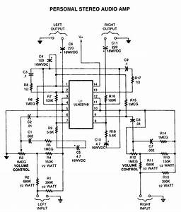 amplifier circuits audio amp electronic schematics page With high quality mono audio amplifier circuit this amplifier is built on