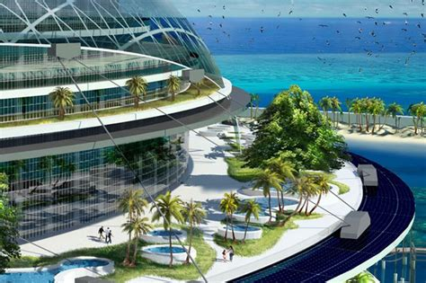 Staircase Method by Futuristic Grand Cancun Eco Tourism Resort Wordlesstech