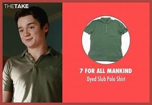 Dan Byrd 7 For All Mankind Dyed Slub Polo Shirt from Easy ...