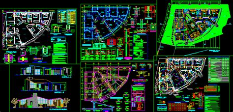 project  radial house dwg full project  autocad