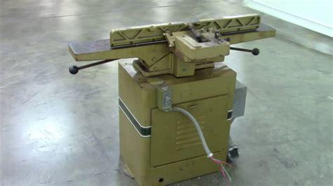 powermatic model  wood jointer  youtube