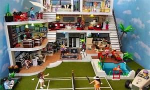 Maison Portable Playmobil. playmobil 4145 maison famille transport ...