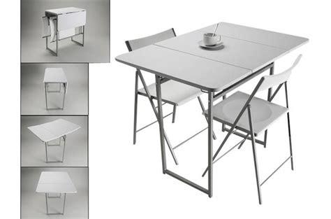 chaise de cuisine blanche pas cher table pliante et 2 chaises blanches en bois kingston