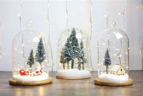 diy miniature christmas fairy garden ideas
