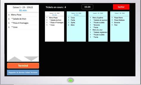 logiciel de cuisine logiciel de gestion et de préparation des commandes en cuisine