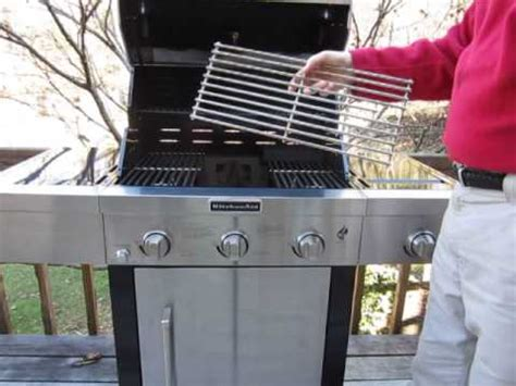 kitchenaid    burner grill  side burner