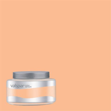 shop valspar pantone apricot ice interior satin paint