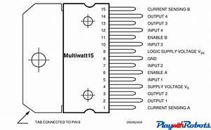 L293d Dual H Bridge Motor Driver Datasheet