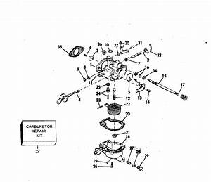 Johnson Carburetor Parts For 1976 6hp 6r76a Outboard Motor