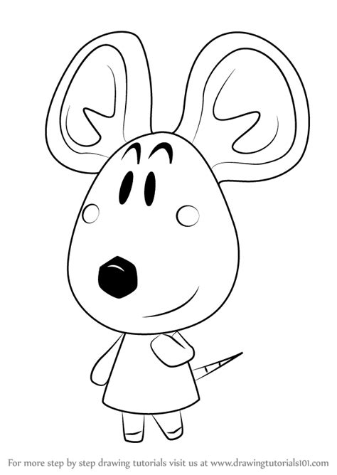 Learn How To Draw Dora From Animal Crossing Animal