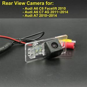 Car Rear View Camera For Audi A6 C6 Facelift C7 4g A7 2010