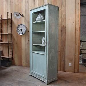 Vitrine En Bois : ancienne vitrine en bois ~ Teatrodelosmanantiales.com Idées de Décoration