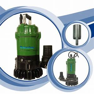 Trencher Submersible 2 U0026quot  Drainage Pumps  1ph