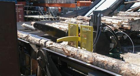 log bucking deck