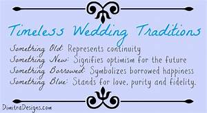 2013 july With wedding traditions something borrowed something blue