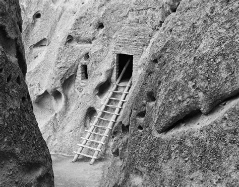 bandelier cliff dwellings  mexico  keith