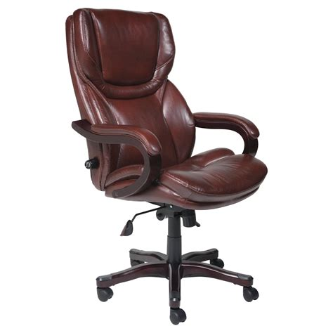 Serta Leather Big And Executive Chair by Master Mill012 Jpg