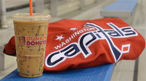 Dunkin' Donuts Announces Return Of Washington Capitals Butter Coffee Makes Me Sick In Dr Oz Nutrition Info Calories At Starbucks Machine Latte How Many Jacobs Review Renoir