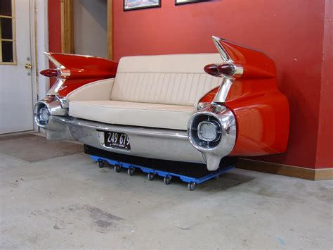 cool couches  retro classic car furniture