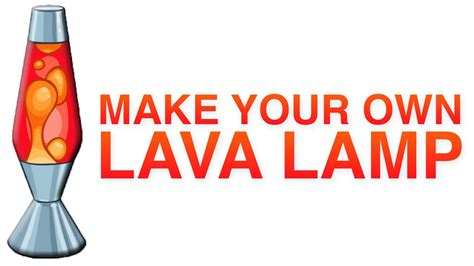 how to make your own lava l diy how to make your own lava l youtube