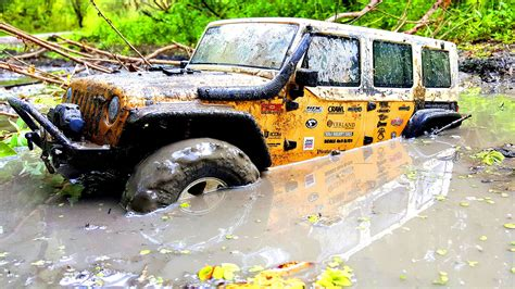 jeep mud rc mudding wrangler looks like the real thing morris 4x4