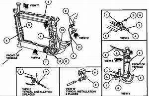 1996 Ford Taurus Engine Diagram
