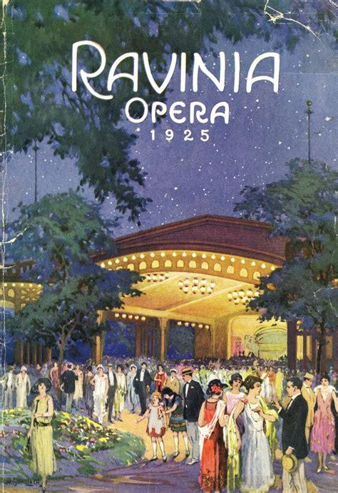 ravinia festival  decades  program covers