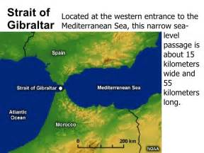 Europe Physical Map Strait Of Gibraltar Image Gallery Hcpr