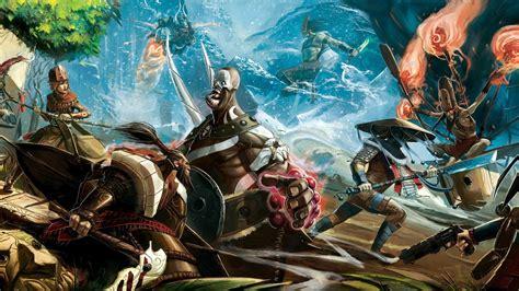 bloodline champions artwork fantasy art video games