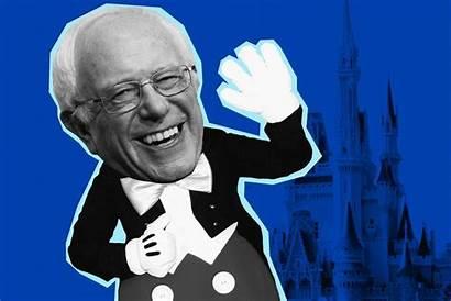 Bernie Sanders Disneyland Rally