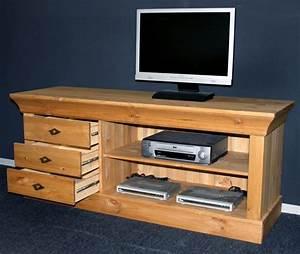 Massivholz TV Lowboard TV Mbel TV Kommode Bergen Kiefer