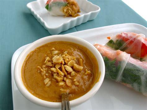sauce cuisine steffens hobick shrimp rolls recipe peanut