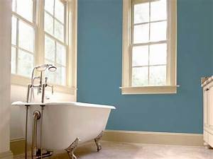 Deco Salle De Bain Gris : peinture gris bleut dans une salle de bain d co r tro ~ Farleysfitness.com Idées de Décoration