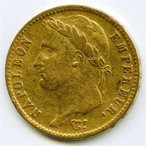 bureau de change à strasbourg napoléon ier 20 francs 1811 w