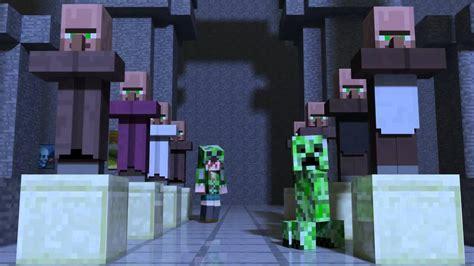 minecraft animacion creeper enderman youtube