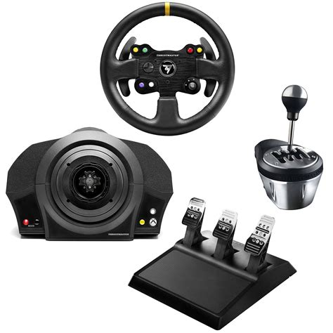 Volante Pc Feedback by Thrustmaster Tx Racing Kit Gt Edition Volant Pc