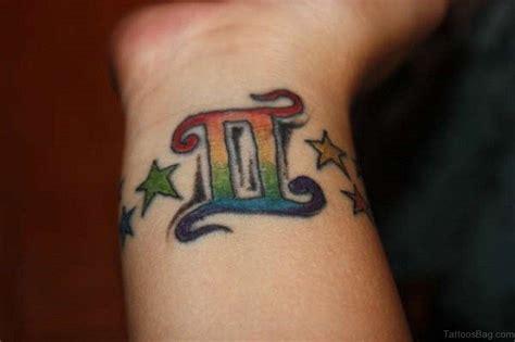 gemini tattoos  wrist