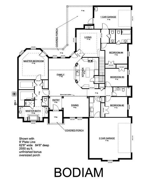 King Homes   Bodiam Plan