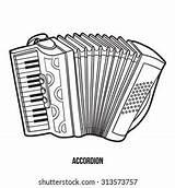 Accordion sketch template