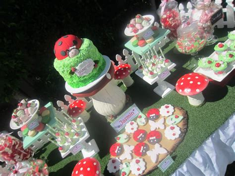 Ladybug Garden Decoration Juego by Ladybug Garden Baby Shower Ideas Themes