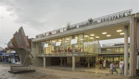 educational park zenufana fp arquitectura archdaily