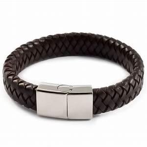 bb68ca33a97 Bracelet Cuir Tressé Homme. bracelet homme cuir tress marron l e cr ...