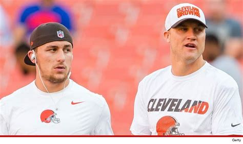 tmz browns players  johnny manziel  qb  josh mccown