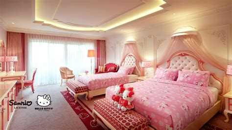 Book Hotel Rooms In Jeju  Character Kitty Princess Room